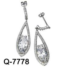 Новые стили Серьги 925 Серебро (Q-7778. JPG)