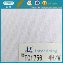Interlining fundível tecido para vestuário