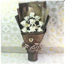 Pequeño oso de peluche de peluche relleno de juguete de peluche para la promoción de regalos