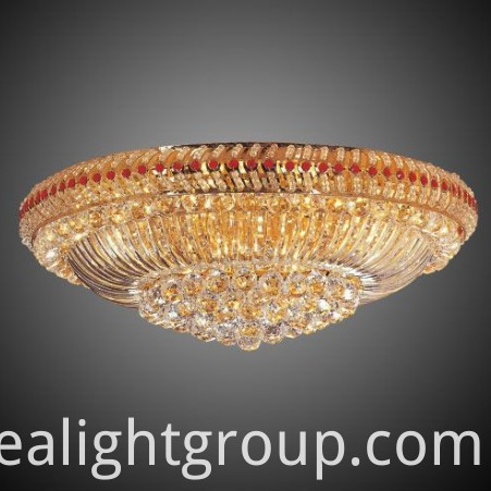 restaurant crystal ceiling lamp