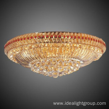 Antique restaurant crystal ceiling lamp