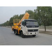 order new Dongfeng technic telescopic cherry picker lorry