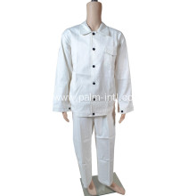 White Flame Retardant Suit