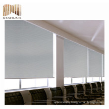 fireproof venetian office curtains roller blind fabric