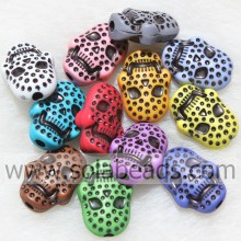Wholesale Price for China Evil Eye Beads,Bone Skull Beads,Plastic Acrylic Skull Beads Factory Nice 15*21MM Crystal Plastic Skull DIY Charm supply to Afghanistan Supplier