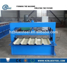 Corrugated Sheet Metal Roof Making Machine, Glazed Metal Roof Forming Machines With Straight and Tapered Sheet