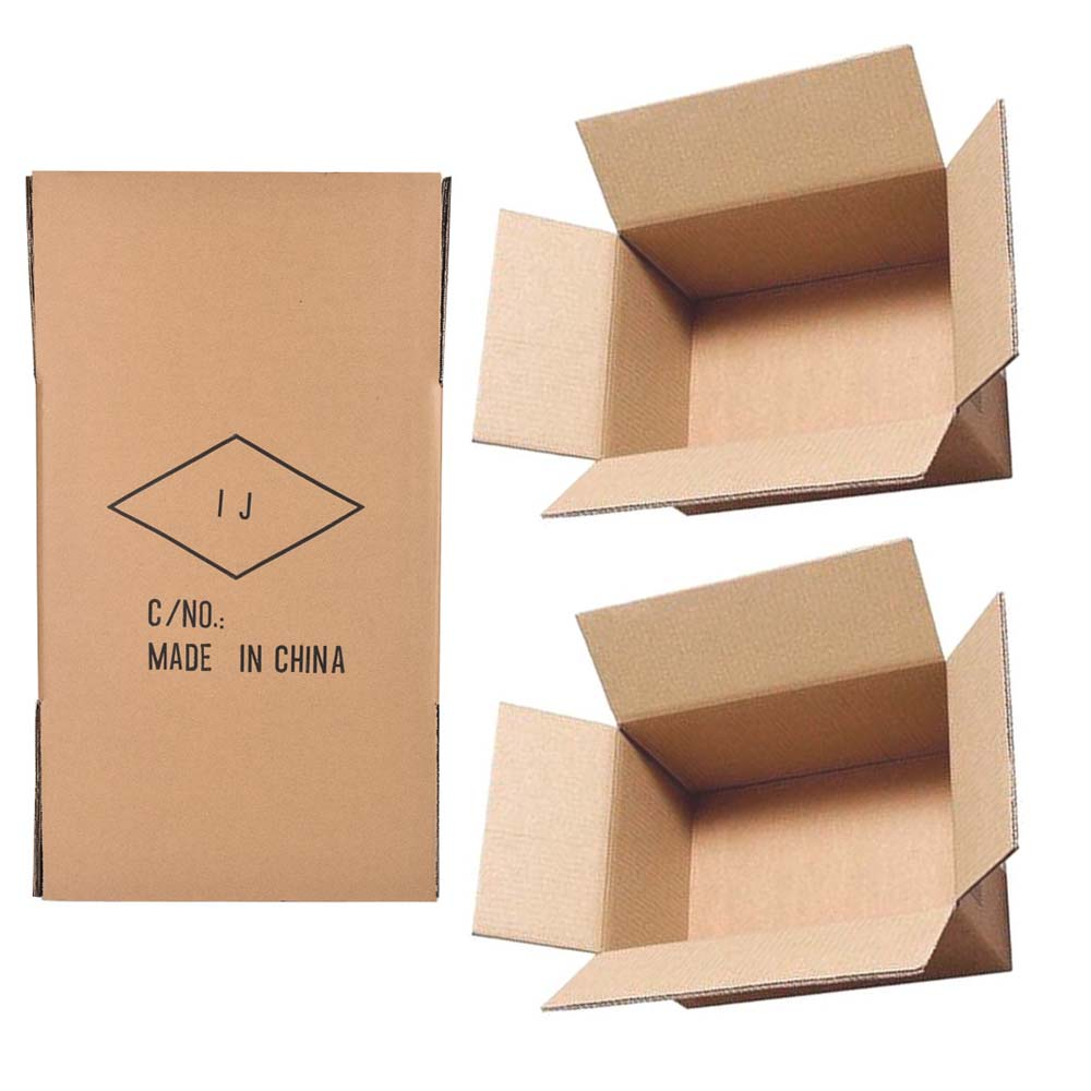Environmentally friendly logistics cartons