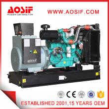 Gerador diesel verde da casa do recipiente de Aosif com o motor CUMMINS