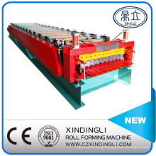 Croatia Style Double Layer Roofing Sheet Ibr&Corrugated Roll Forming Machine