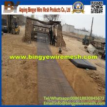 Malha de arame com agulha vibratória de aço inoxidável (fábrica)