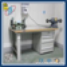 Banc de travail de laboratoire laboratoire avec tiroirs