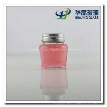 150ml 5oz Round Cheese Glass Mason Jar with Silver Cap