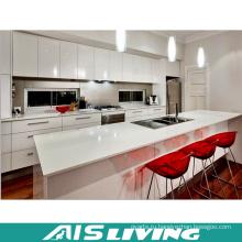 Галерея высокий кухонный шкаф глянец (АИС-K256)