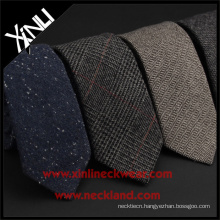 2015 Winter Wool Neckties with High Quality Skinny Men 100% Wool Ties