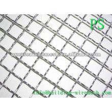15X15 quente mergulhado galvanizado Crimped Wire Mesh Manufacturing para peneira