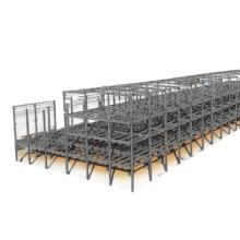 Multi or Single Floor Construction Prefabricated Light Steel Framed School Building