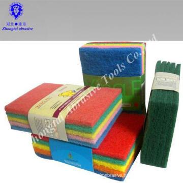 wholesale nylon non-scratch scouring pad,scour power
