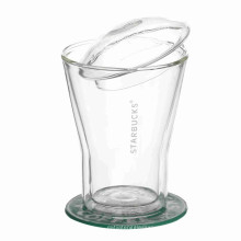 Print Custom Logo Glass Cup