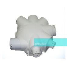 Accesorios de tubería de plástico personalizado