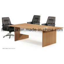 Neues Design Melamin Finish Office Sektionale Besprechungstabelle (FOH-CT-F2412)