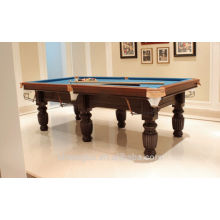 Economic 8ft MDF billiard table,classic type 8 ball pool table on sale