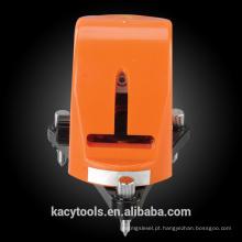 2 linhas Nível de laser de linha cruzada de nivelamento automático