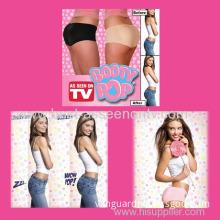 New Booty Pop Original Padded Bum Shaper Enhancer Panties Beige Or Black S-xl