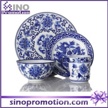 Blue and White Porcelain Dinner Set Kitchenware