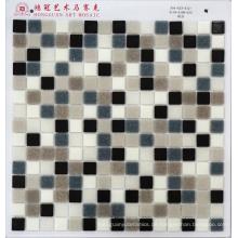 Mosaik Mischung Grau Glas Mosaik für Schwimmbad Billig