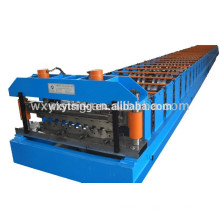 Pass CE and ISO YTSING-YD-1302 Metal Steel Floor Decking Roll Forming Machine China Manufacturer