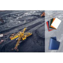 Lonas de cobertura de mineração sem PVC