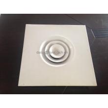 Круглый сменный круглый потолочный диффузор для кондиционирования воздуха