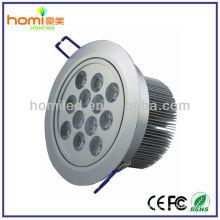 Alta potência de luz de teto de LED 12W