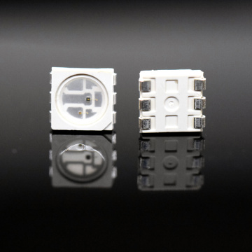 5050 SMD LED Röd + IR 2-Chips LED