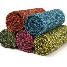 100% Polyester Plain Dyed Super Soft Polar Fleece Blanket