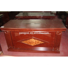 Hot sale office table MDF+paper MDF+veneer office furniture cheap price