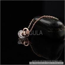 VAGULA kleine Syre Design Zirkon Halskette (Hln16360)