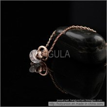 VAGULA Small Syre Design Zircon Necklace (Hln16360)