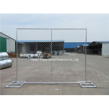 Galvanized PVC Coated Chain Link Fencing/Welded Temporary Fencing/Australia Standard Temporary Fencing