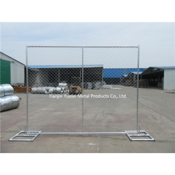 Australia Chain Link Welded Mesh Standard Temporary Panel Fence, Metal Fence Panels