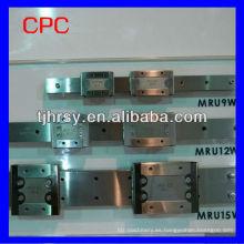 Taiwán CPC Guía lineal MR12WL SU / ZU