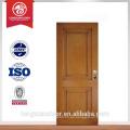 Puertas de metal de puerta de madera de diseño más moderno para la posición interior