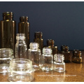 15ml Tubular Clear Mini Glass Vials for Pill Packing