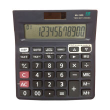 12 digits lcd display check correct calculator