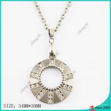 Zinklegierung Metall Runde Halskette (PN)