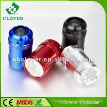 Aluminiumlegierung 12000-15000MCD mini hohe Leistung geführtes Taschenlampenfackel