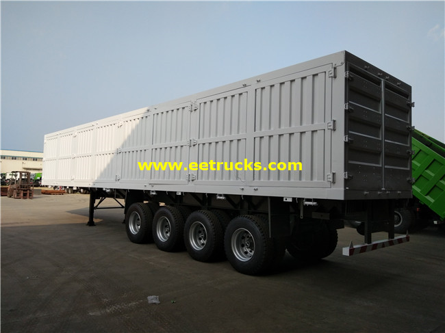 Cargo Transport Truck Trailers