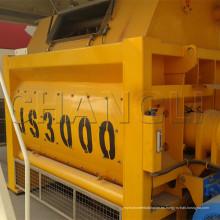 Mezclador de hormigón de doble eje Js3000 (3m3) de gran capacidad y alto rendimiento