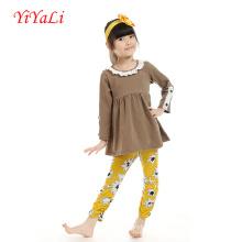 Conjuntos de ropa de alta calidad al por mayor de moda para niñas