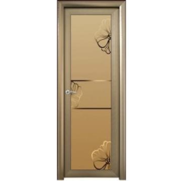 Aluminium toilet doors